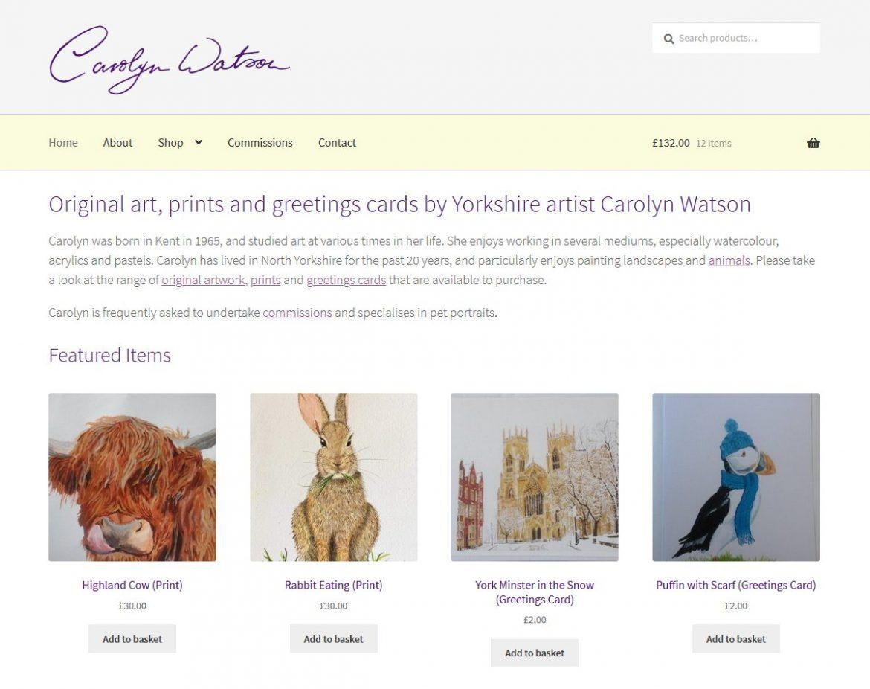 Carolyn Watson website
